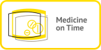 medicine on time logo