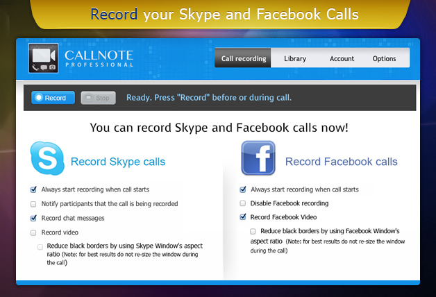 facebook video calling software  for xp