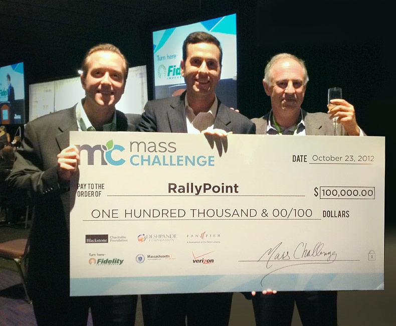 RallyPoint Mass Challenge winner