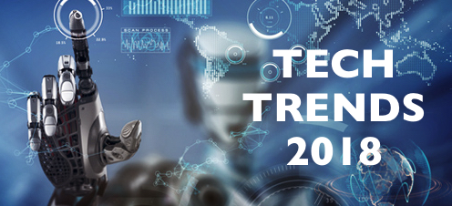 Top Tech Trends to Watch in 2018